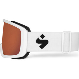 Sweet Protection Firewall Gafas Hombre, blanco/naranja